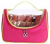 Waterproof Clear Travel Smart Makeup Handbag Cosmetic Gadget Purse Organizer Bag