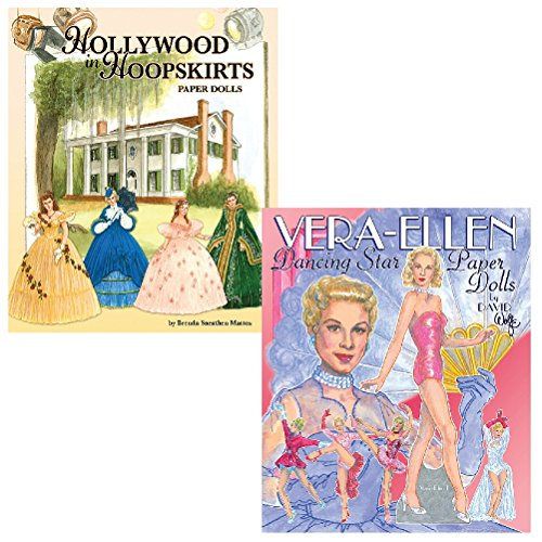 (Set) Hollywood In Hoopskirts & Vera-Ellen Fashion Paper Doll Collections (Old Hollywood Movie Star Costumes)