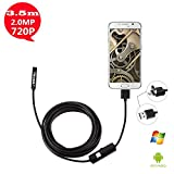 USB Endoscope Inspection Camera. OTG Micro 2 In 1 Android Smartphone USB Endoscope Waterproof Borescopes Inspection Camera with for Android system phone / tablet computer and Windows system