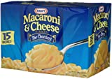 Kraft Blue Box Macaroni &amp; Cheese, 7.25-Ounce Boxes (Pack of 15)
