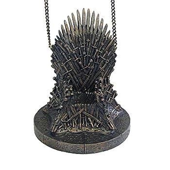 Kurt adler game of thrones resin throne ornament for Game of thrones garden ornaments