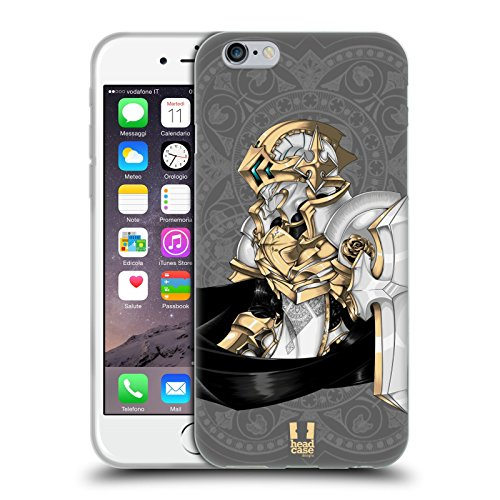 Head Case Designs Astral Knights Soft Gel Back Case Cover for Apple iPhone 6 4.7
