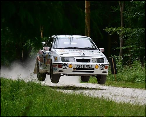 Photographic Print of CM8 7036 Ian Gwynne, Ford Sierra Cosworth