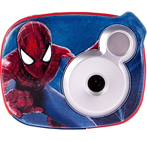 Marvel's Spiderman Snap n' Share Digital Camera with 1.5-Inch LCD Screen, Red (98646)