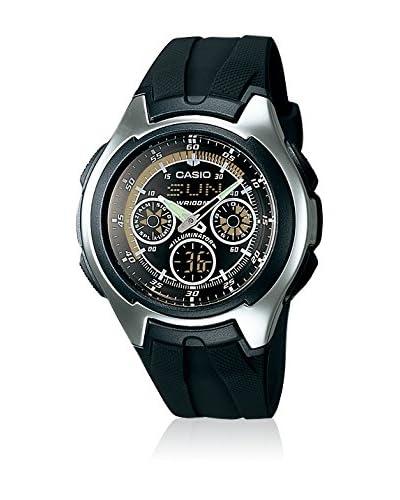 Casio Reloj con movimiento cuarzo japonés Man Aq-163W-1B1 38.0 mm