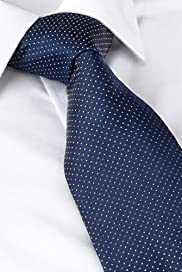 Sartorial Pure Silk Spot Tie