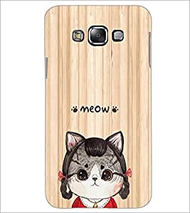 PrintDhaba Cartoon D-5811 Back Case Cover for SAMSUNG GALAXY A7 (Multi-Coloured)