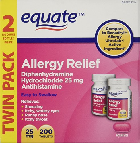 equate-diphenhydramine-hydrochloride-antihistamine-twinpack-allergy-relief-25mg-200ct-compare-to-ben