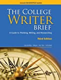 The College Writer: Brief 2009 MLA Update Edition (0495803421) by VanderMey, Randall