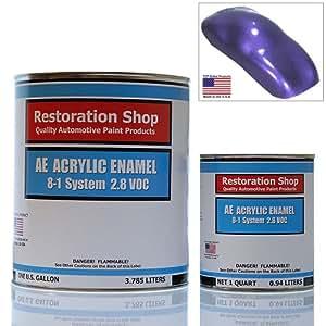 Plum Crazy Metallic ACRYLIC ENAMEL Car Auto Paint Kit