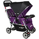 Joovy Caboose Too Ultralight Tandem Stroller, Purpleness