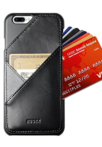 iPhone-7-Plus-Wallet-Case-Card-Holder-Up-to-8-Cards-Slim-Eco-Leather-HUSK