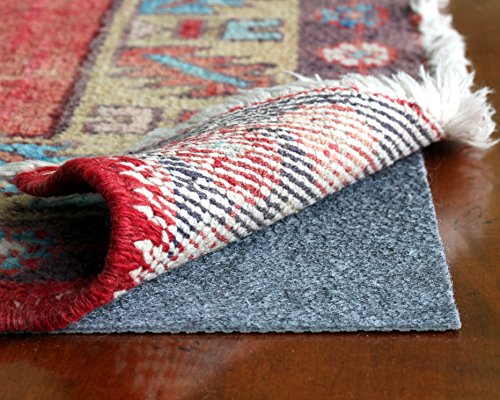 Rug Hold by Rug Pad Central, Runner & Area Rug Pad, Non-Slip Felt & Rubber, Non Skid for Hardwood Floors & Hard Surfaces, Reversible for Rug on Carpet- Made in USA (11'x13') (Rugs Target compare prices)