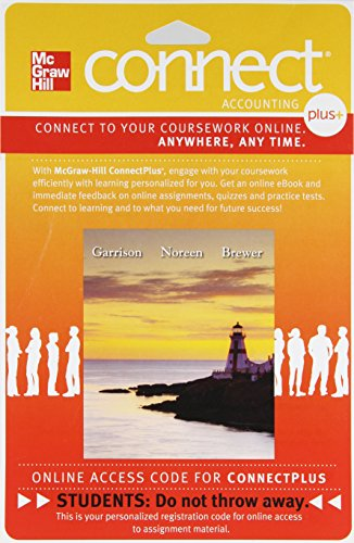 Connect Plus Accounting with LearnSmart 1 Semester Access...