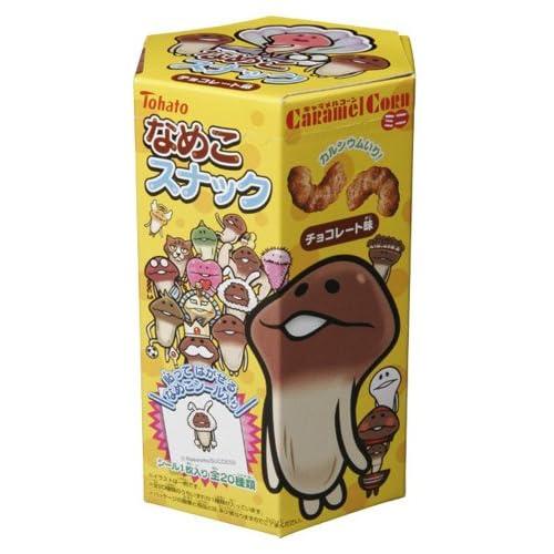なめこスナック チョコレート味 12個入り BOX (食玩)