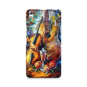 Mobicture Music Premium Printed Case For Lenovo A7000