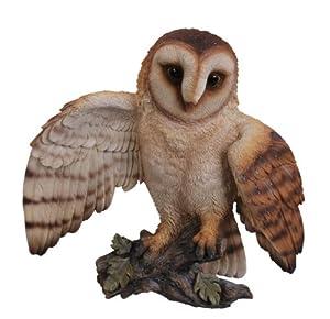 Vivid Arts Flying Barn Owl Plaque by Vivid Arts Ltd