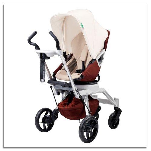 Orbit Baby Stroller G2, Mocha front-318689