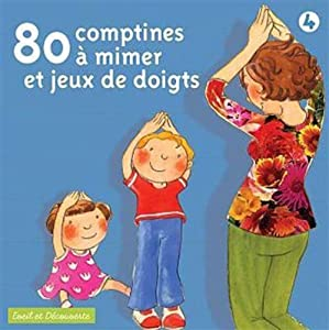 80 Comptines A Mimer  by EMI/Virgin France