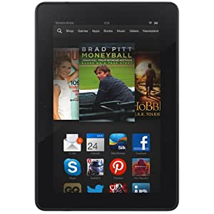 "Kindle Fire HDX 7"", HDX Display, Wi-Fi and 4G, 16 GB - Includes Special Offers (Previous Generation - 3rd)"
