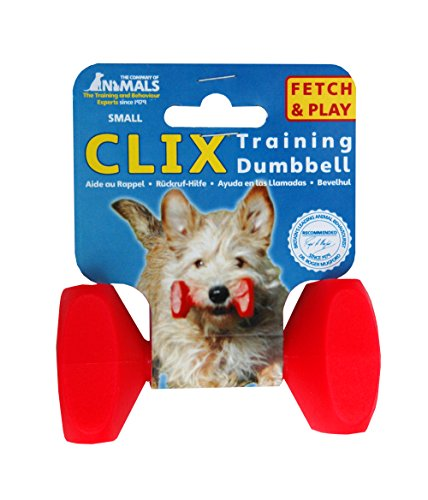 Zanies-The-Company-of-Animals-ZA5070-15-83-CLIX-Dumbbell-Medium-Red