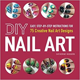 diy nail art easy step-step