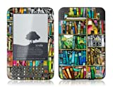 Protective Skin Designer Cover for Amazon Kindle Keyboard 3 - Bookshelf - Gelaskins