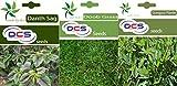 DCS Dantu Sag,Doop Grass & Gongura (Pack Of 3 Per Pack 1 gram Each)