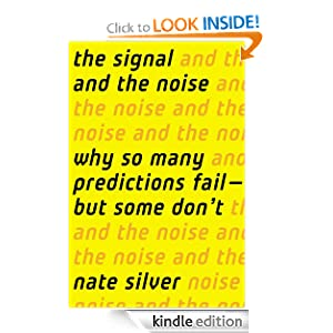 Cover of the The Signal and the Noise book by Nate Silver