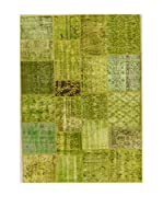 Design Community By Loomier Alfombra Anatolian Patchwork Verde 250 x 300 cm