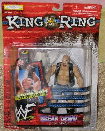 Picture of Jakks Pacific Wf King of the Ring, Stone Cold, Action Figure (B000XMG4KA) (Jakks Pacific Action Figures)