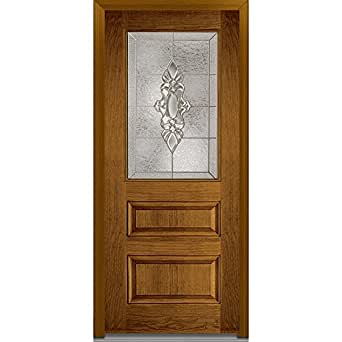 National door company efo631hmn30lhdwl fiberglass heirloom for 18 x 80 pantry door