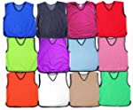 Training Bibs Football Soccer Rugby S...
