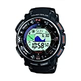 Casio PRO-TREK Men's Radio Controlled Solar Digital Watch PRW-2500-1ER with Resin Strap