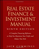 img - for Real Estate Finance and Investment Manual by Cummings, Jack [Wiley,2008] [Paperback] 9TH EDITION book / textbook / text book