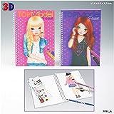 DEPESCHE 007857 - TOPModel Pocket Malbuch mit 3D Cover hergestellt von DEPESCHE