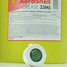 AEROSHELL 33MS Lithium Moly Synthetic Grease Mil-Spec Gunsmith Armorer A R1oz Jar
