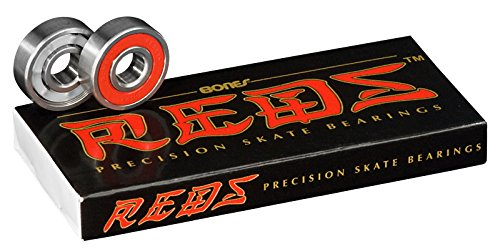 [Bones: BONES BEARINGS skateboard sk8 skateboard bearings REDS [reds] [other]