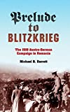 Prelude to Blitzkrieg: The 1916 Austro-German Campaign in Romania (Twentieth-Century Battles)