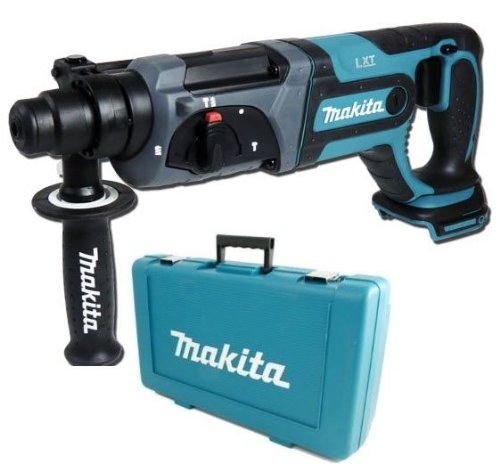 MAKITA LXT 18V LITHIUM ION BHR241 SDS HAMMER DRILL WITH CARRY CASE SUPPLIED BY DPT