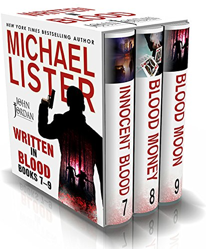 WRITTEN IN BLOOD VOL 3: INNOCENT BLOOD, BLOOD MONEY, BLOOD MOON: John Jordan Mysteries Collections
