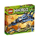 Picture Of LEGO Ninjago Jay's Storm Fighter 9442 Review