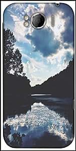 Snoogg Nature Serenity Designer Protective Back Case Cover For HTC Sensation Xl