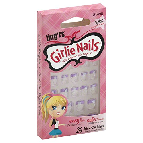 Fing'rs Stick-On Nails, 31498 24 nails