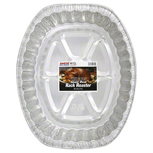 Handi Foil Ultimate Giant Oval Rack Roaster