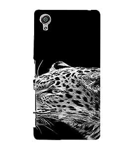 PrintVisa Modern Art Animal Zebra Design 3D Hard Polycarbonate Designer Back Case Cover for Sony Xperia X