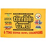 Pittsburgh Steelers 6-Time Super Bowl Champions Gold Terrible Towel