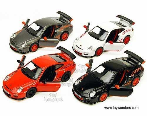 Porsche 911 GT3 RS Die Cast 1:36 Scale - Grey