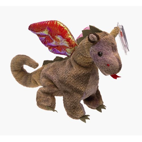 Scorch the Dragon - MWMT Ty Beanie Babies - 1