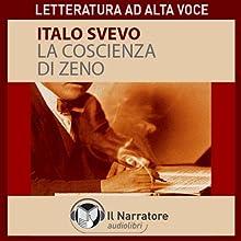 La coscienza di Zeno Audiobook by Italo Svevo Narrated by Moro Silo